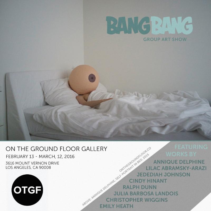 Bang Bang Art Show Poster