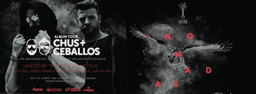 OCT 31 CHUS + CEBALLOS /PALLARES / MARCO CARDOZA / AUDICA / JUSTIN KIM /  AT HABITAT LIVING SOUND
