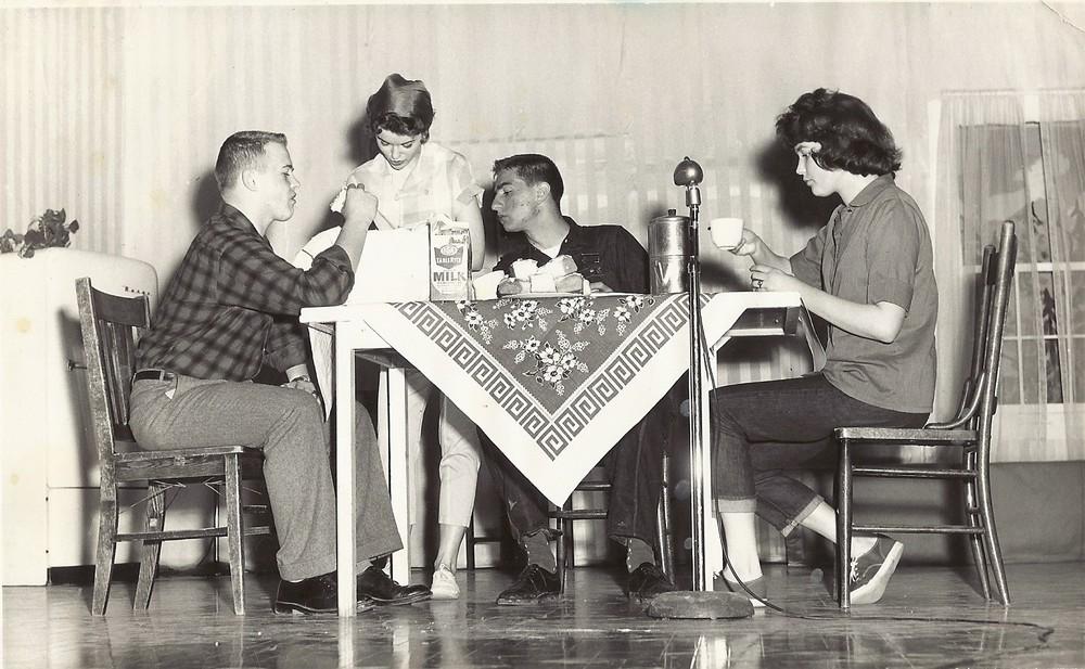 by  Betty McDonald, Wymore High School, 1961
