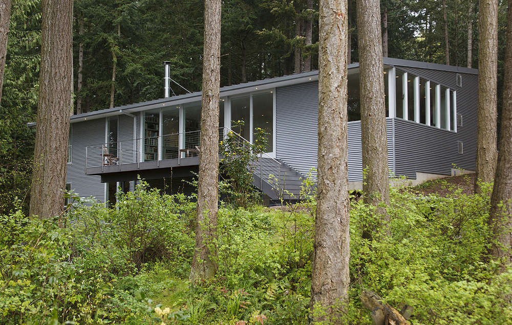 13_Rear Elevation with Foreground Trees_Skagit River House.jpeg