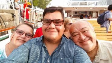 Mama, me, and Papa
