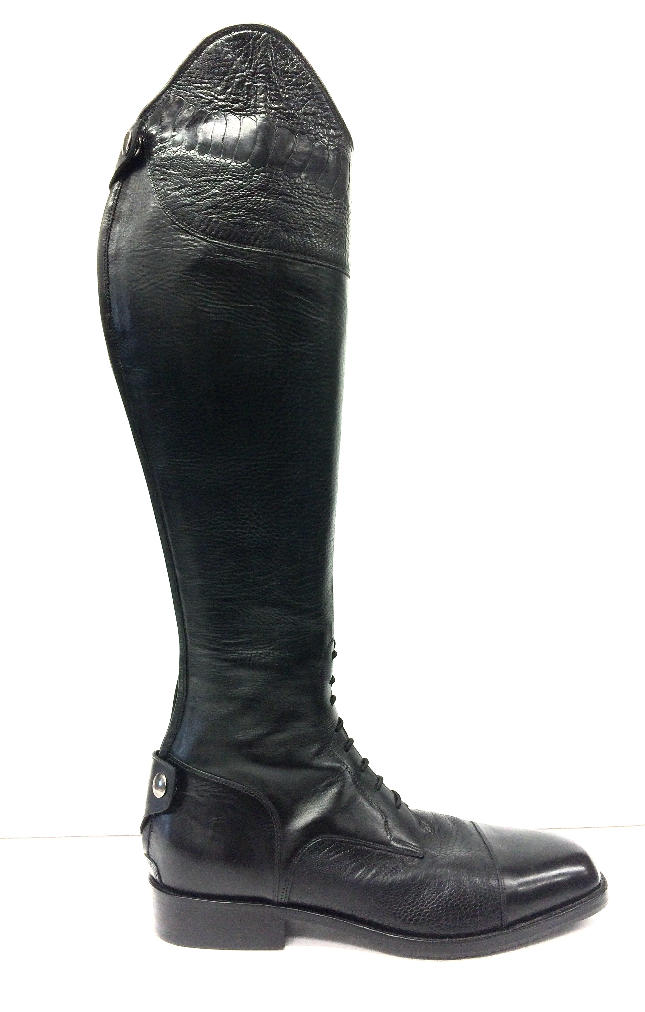 bdfe6bfca026 Bespoke Stallions Leather & Ostrich Leg Riding Boots — Andre No. 1 ...