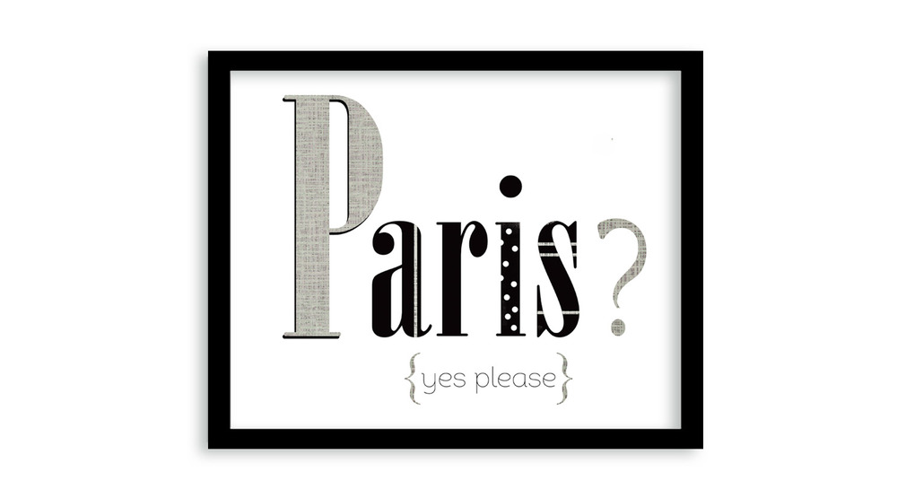 New Paris art print + More