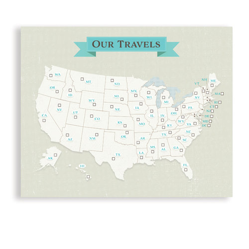 travel themed wall art and canvases the here and there shop