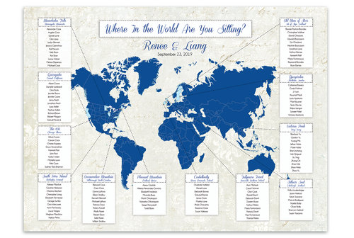 Custom Designed Seating Charts For Weddings And Any Other Event The