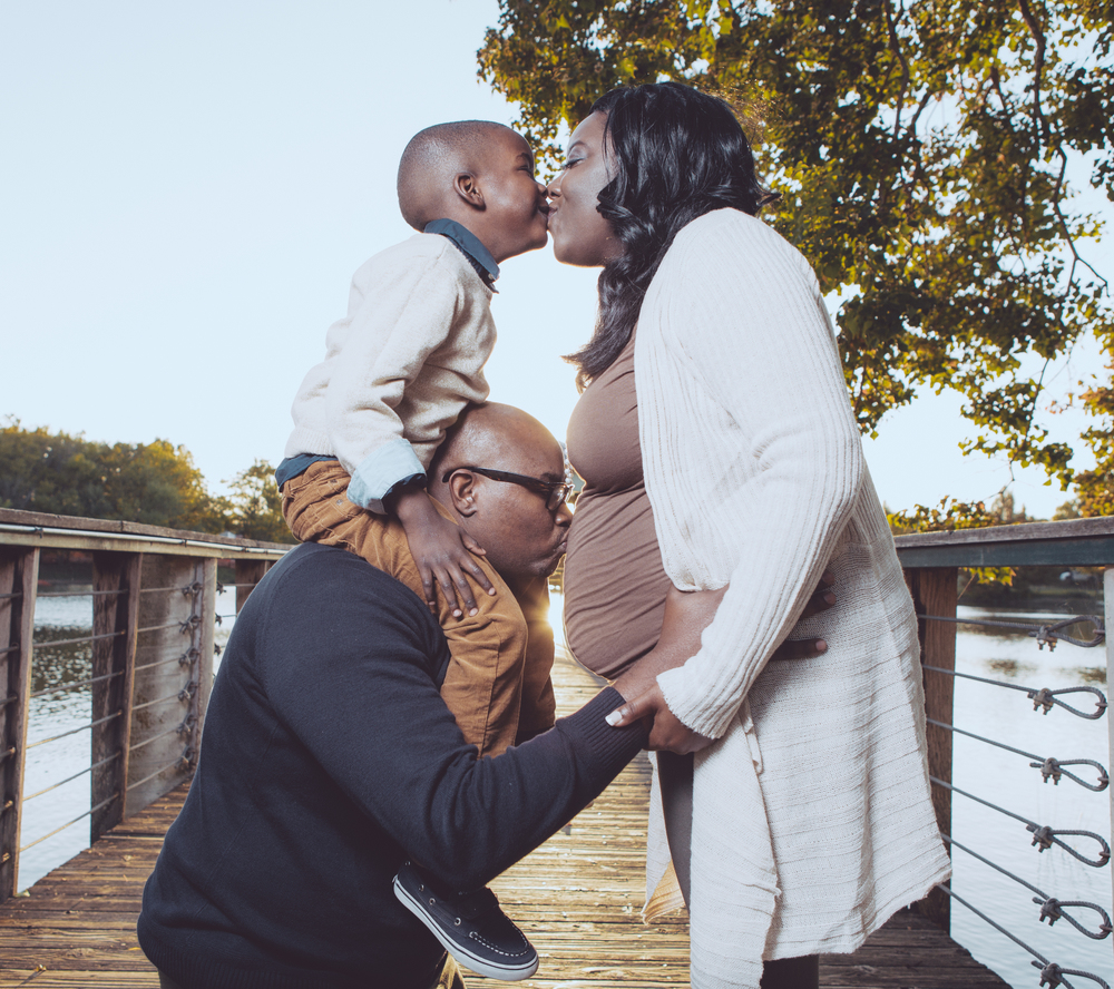 Anderson Family Maternity Photos