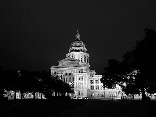 Midnight. Austin, Tx—Friday the 13th. 🌑 . . . #ATX #BlackandWhite #shotoniphonex following the #ThursdayNightSocialRide, #getoutdoors. Swipe ➡️ for ride statistics  Shadow game courtesy of @dreadedphoto 🙏🏾