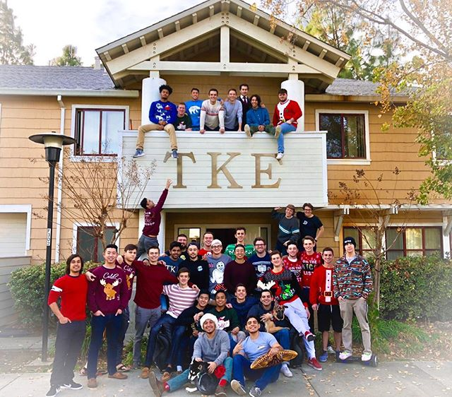 Happy Holidays from the brothers of TKE! Crush those finals and have an incredible break 🎄
