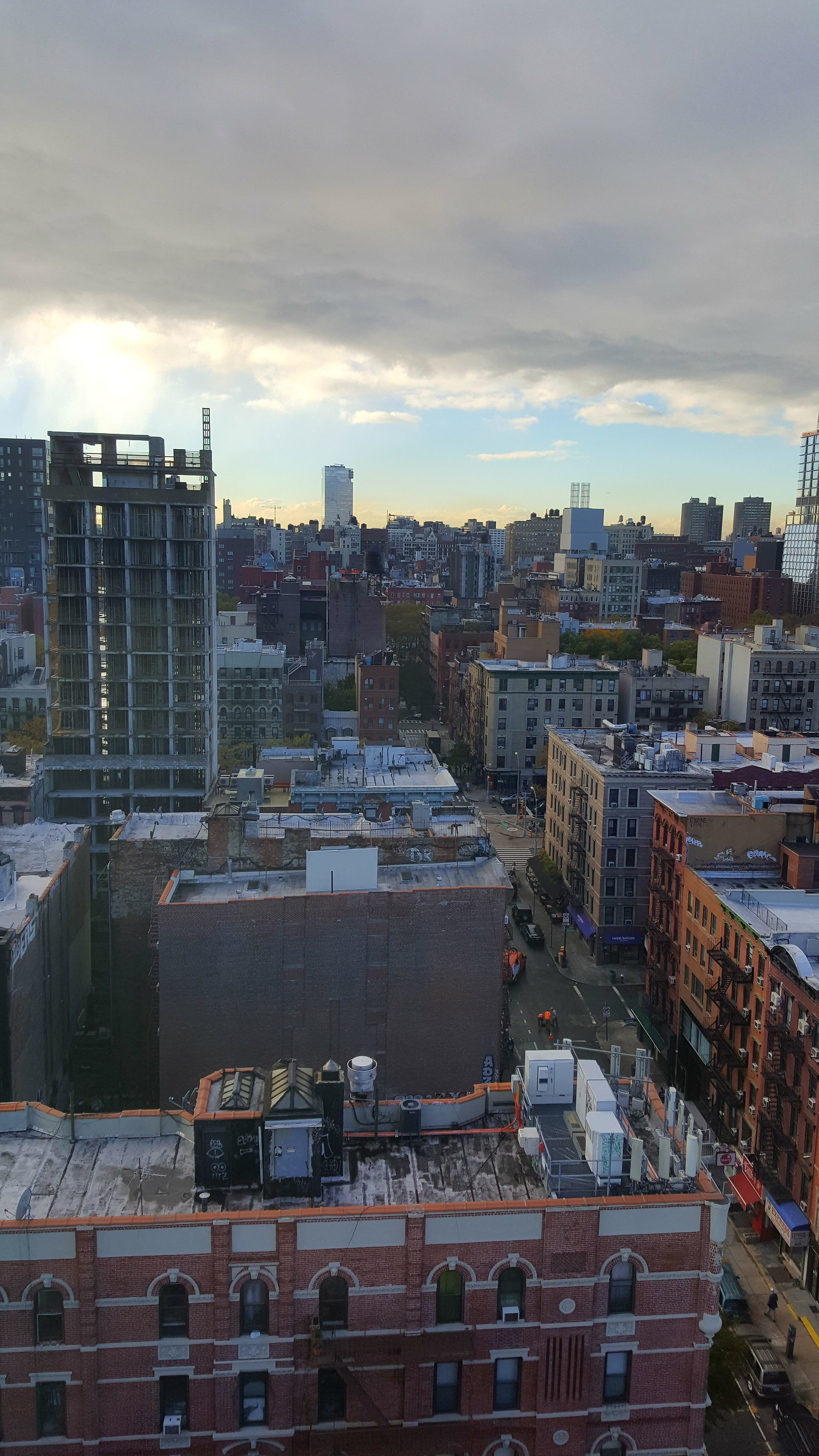 Room with a view - Hotel on Rivington, SOHO, NYC