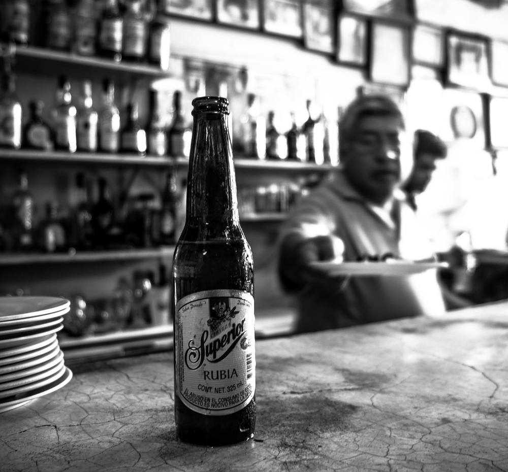 Today I 'm in Tlacotalpan, Veracruz. 1 hour south of Veracruz City. Came to a little hole in the wall Cantina to watch Brazil lose 3-0 to the Netherlands diving team.  © Jorge Villarreal