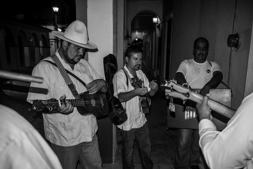 A Serenata was given at midnight outside my moms window to celebrate her and my dads anniversary.  © Jorge Villarreal