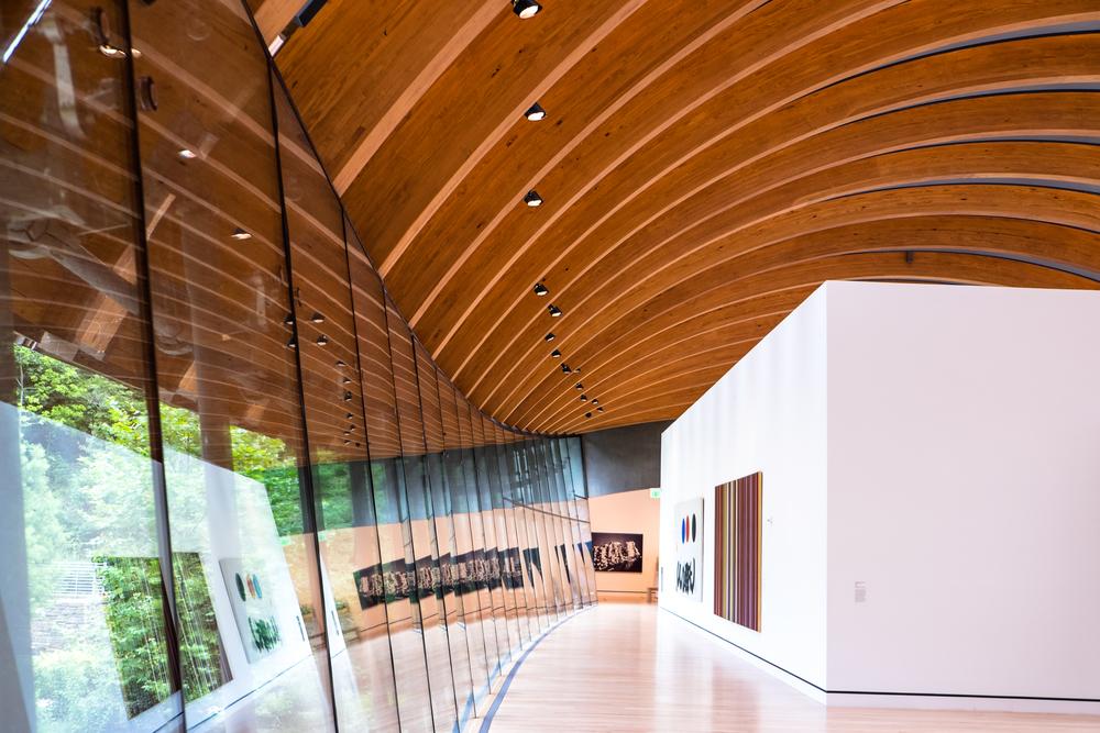 Crystal Bridges Museum of American Art. Bentonville, Arkansas.