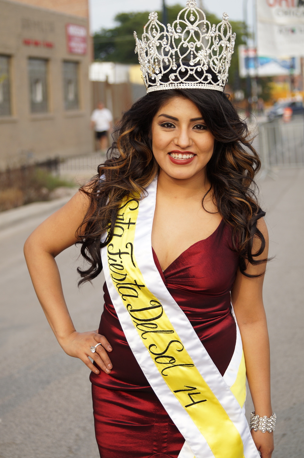 Srta. Fiesta del Sol 2014 Maria J. Herrera