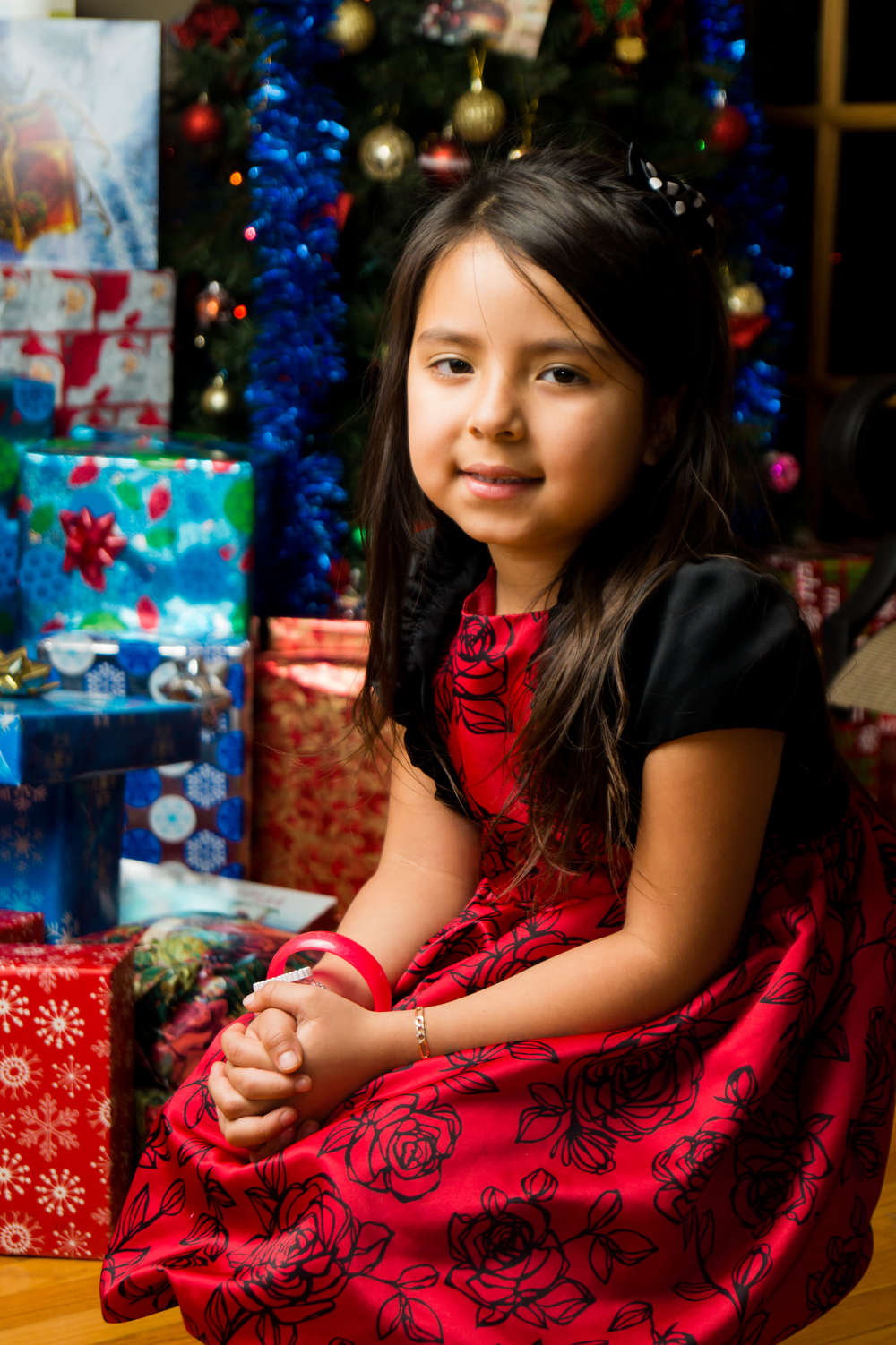 Chrismas portrait (Stephany)