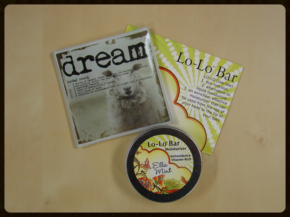 Lo-Lo Bar Lotion with Dream Tray -- $16.75