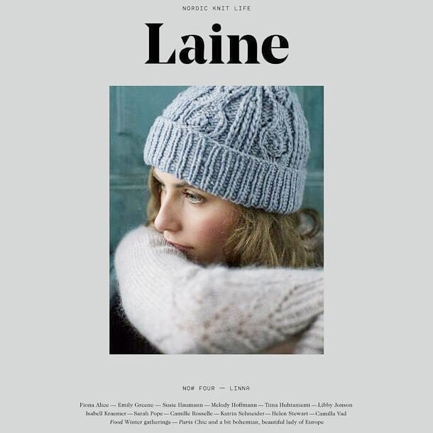 Now taking pre-orders for Laine #4! We can't wait to cozy up with this issue full of patterns, interviews, and inspiration ❤ (Link in profile!) Locals now have the option to choose in-store pickup when ordering online! @laine_magazine #lainemagazine #knitting #mkeknits #knit #woolandcottonco