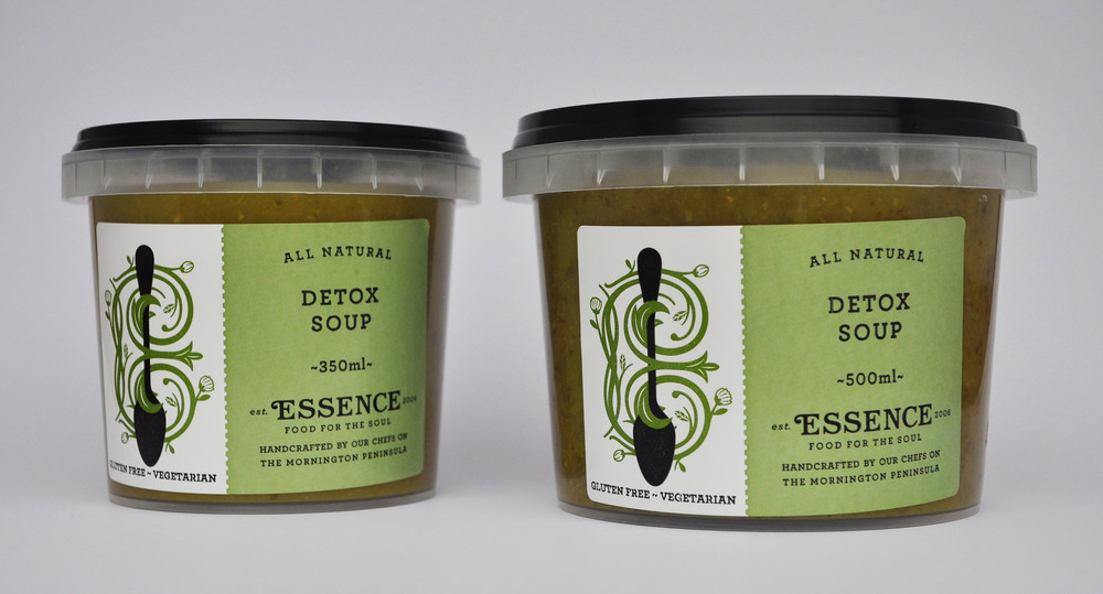 Detox Soup  350ml Container  or   500ml   Container/Pouch   [GF, V]