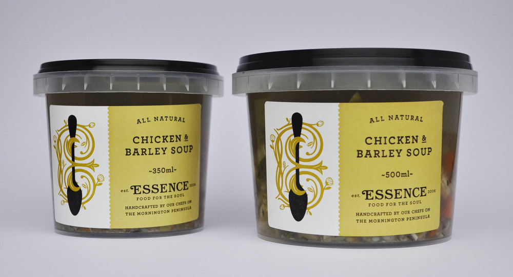 Chicken & Barley Soup  350ml Container or 500ml Container/Pouch