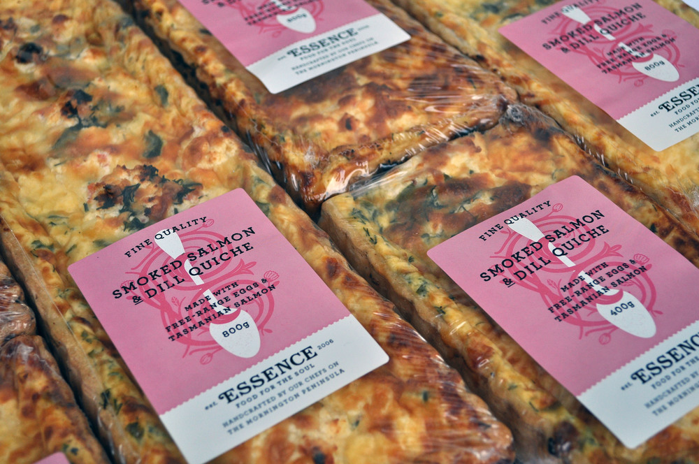 Smoked Salmon & Dill Quiche  800g or 400g