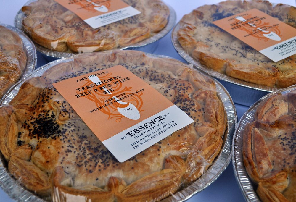 Traditional Beef & Red Wine Pie 1kg