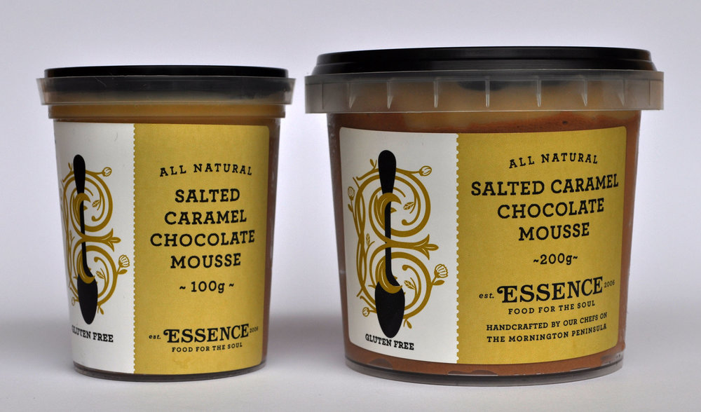 Salted Caramel Chocolate Mousse 100g or 200g [GF]