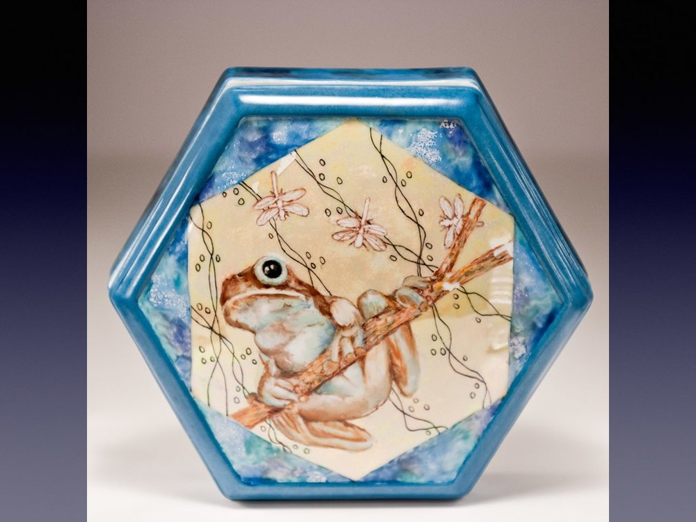 Porcelain Box _ Face Photography