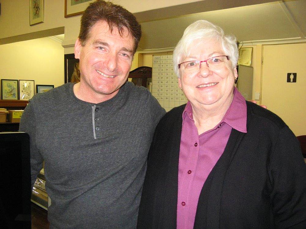 Andre Crisci and Pamela Keighran