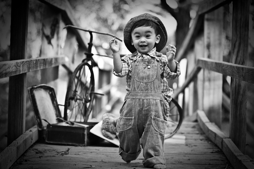 face photography vintage kids