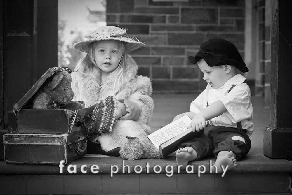 Vintage Kids Session _ Face Photography