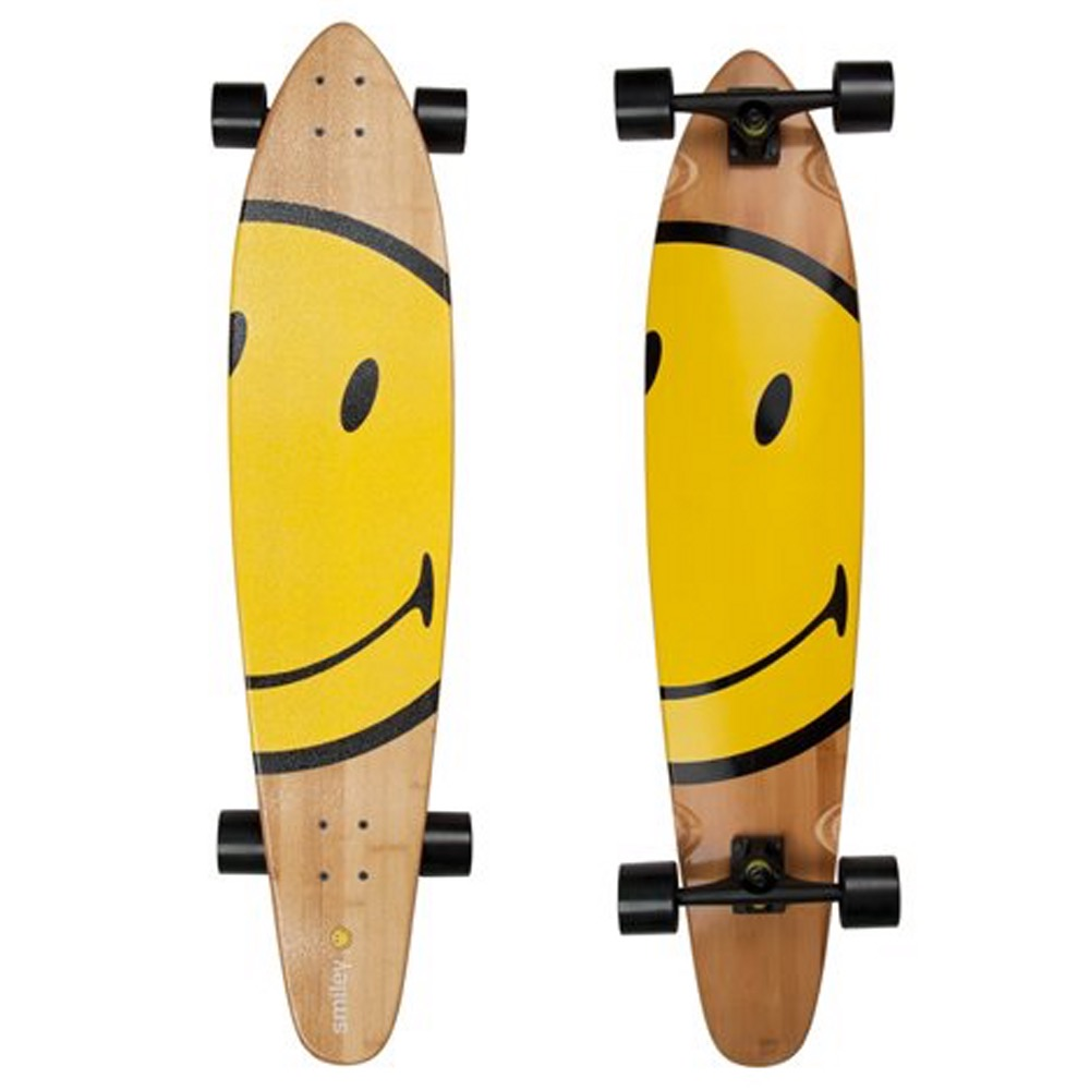 Face 45 Smiley Longboard