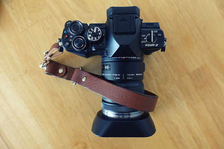Looking good with the Born and Bred leather wrist strap!