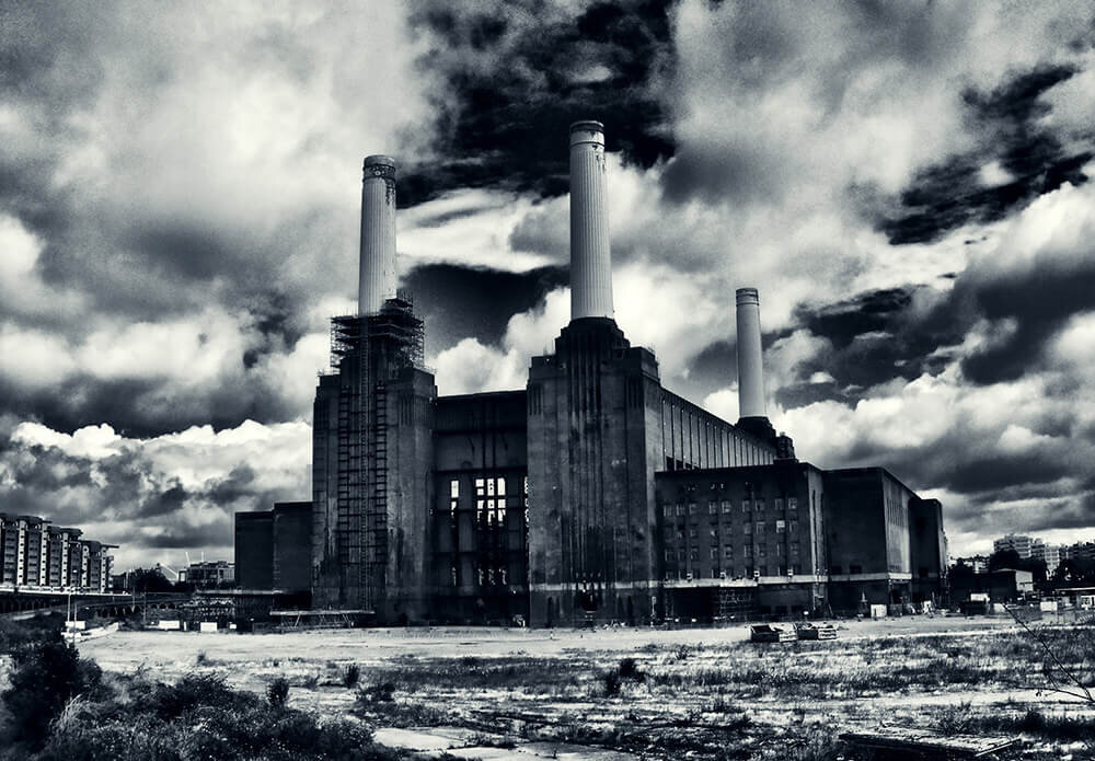 Battersea Power Station - Urban Landscape Photography - London City Landscapes — Urban