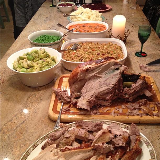 Thanksgiving!! #yummm