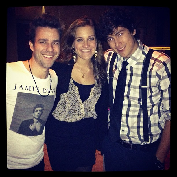 Fun night with @toddcarey and @bracherbrown!