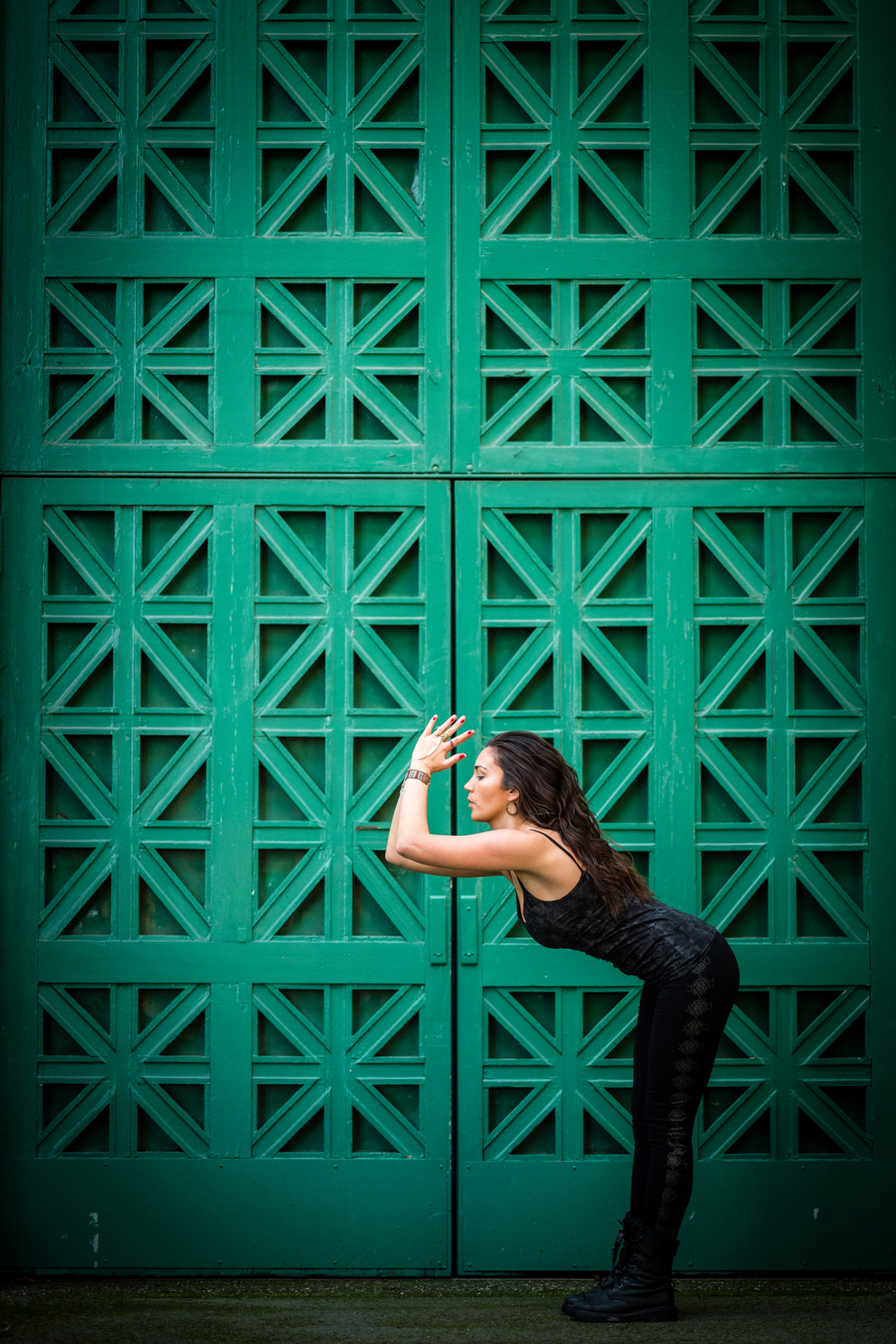 :: Photo by  Neil Gandhi  for  Yoga Journal Conference  :: Yoga tank and leggings by  Synergy Organic Clothing ::