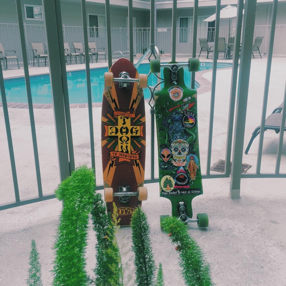 :: Foggy Santa Monica skate dates ::