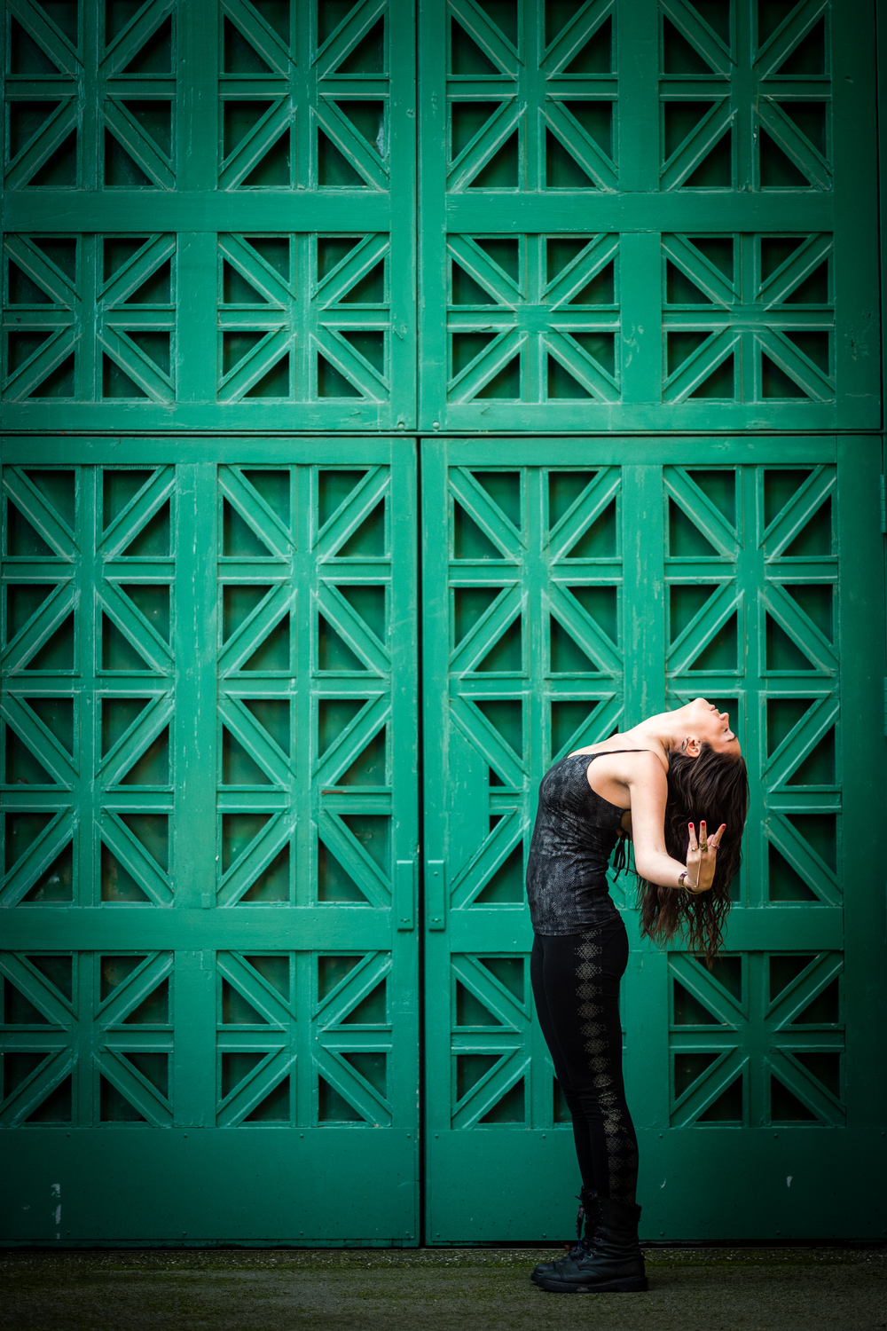 :: Photo by  Neil Gandhi  :: Yoga Tank & Leggings by  Synergy Organic Clothing  ::