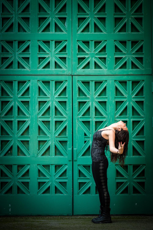 :: Photo by  Neil Gandhi  :: Yoga Tank &Leggings by  Synergy Organic Clothing  ::