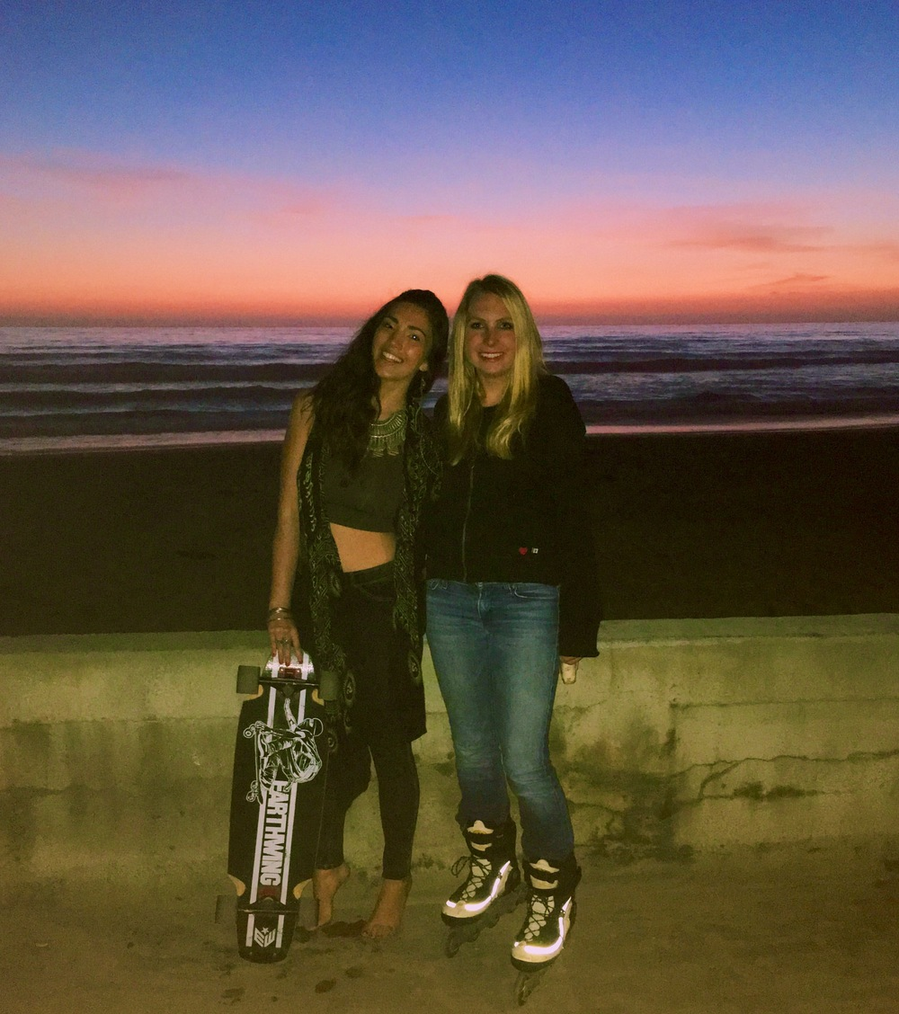 :: Skate date in San Diego, CA with an old friend ::