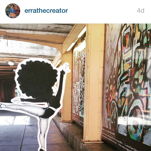 @errathecreator! We love your Instagram!! #errathecreator #beautiful #dance #welovedanceyoulovedance #loveofdancetv #nycdance #saritalou