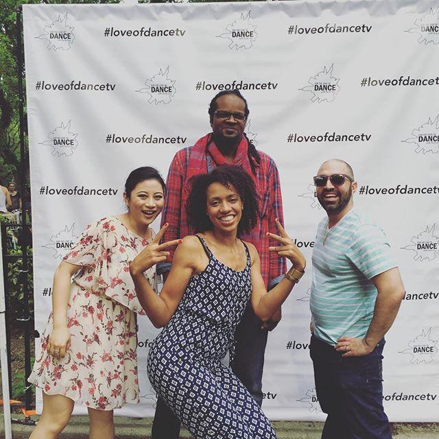 This crew! @saritalou @haitianrich @ricep0d #loveofdance #fortheloveofdancetv #dance #danceparade #danceparadenyc