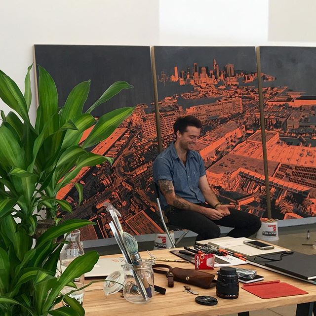 Downtown LA - Join artist @patrickvaleartist and #BBAM founder @bethaniembrady this Sunday for @rowdtla's Artist in Residence Open House, 2-5PM during @smorgasburgla! #PatrickVale's #ROWDTLA Residency installation will be on view until September 16th. Enjoy food, drinks, music, and art in one of LA's newest creative hubs. #DTLA #LosAngeles #SmorgasburgLA #PatrickValeStudio #PatVale 📸@bethaniebrady