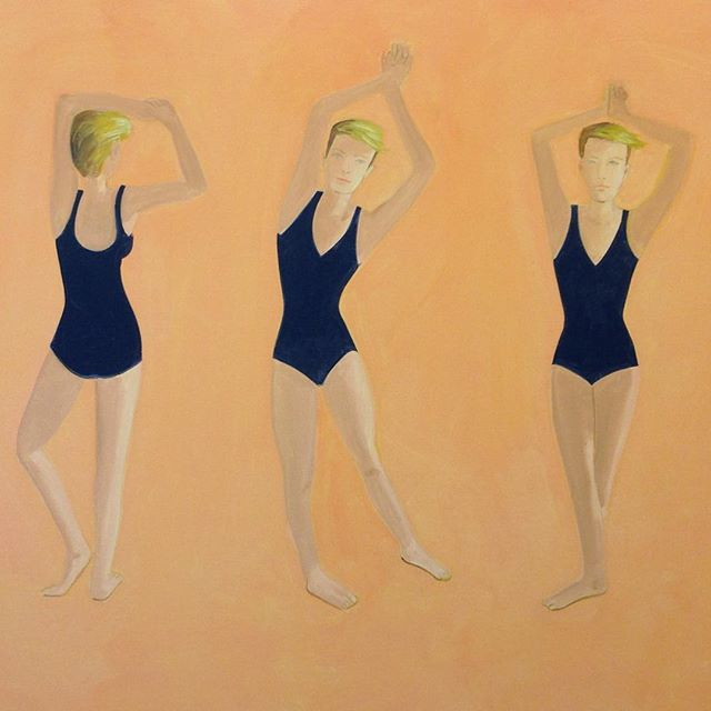 Enjoying the final bank holiday of summer at the 'Alex Katz: Quick Light' exhibition on view through September 11th at the @serpentineuk. Beginning his career in the 1950's at the height of Abstract Expressionism, #AlexKatz emerged as a premier representational painter. Inspired by films, advertising, music, and life his portraits and landscapes are defined by their flat colors and fluid lines.  #SerpentineGallery #Painting #BBAMLondon 📸: @jessicasalzer