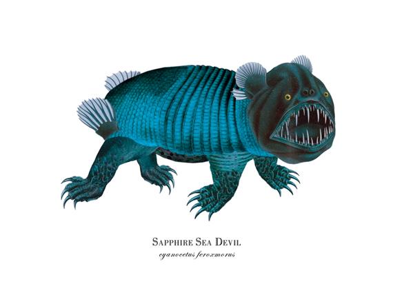 """""""Sapphire Sea Devil"""""""