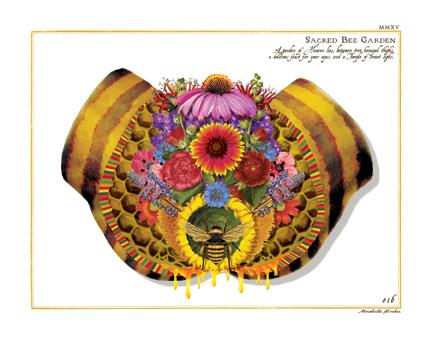 """Sacred Bee Garden"""