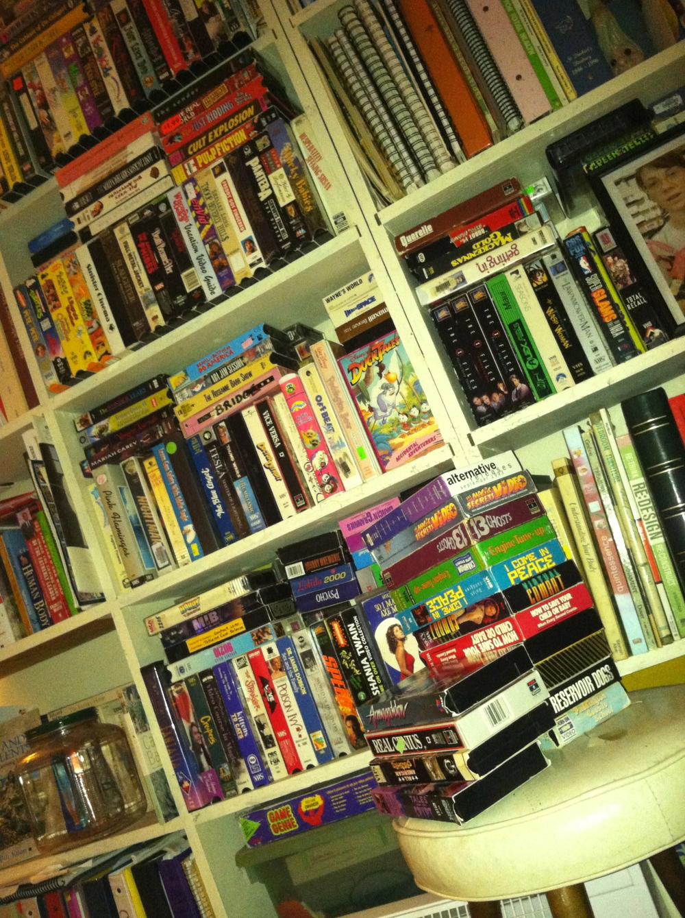 VHS hoard