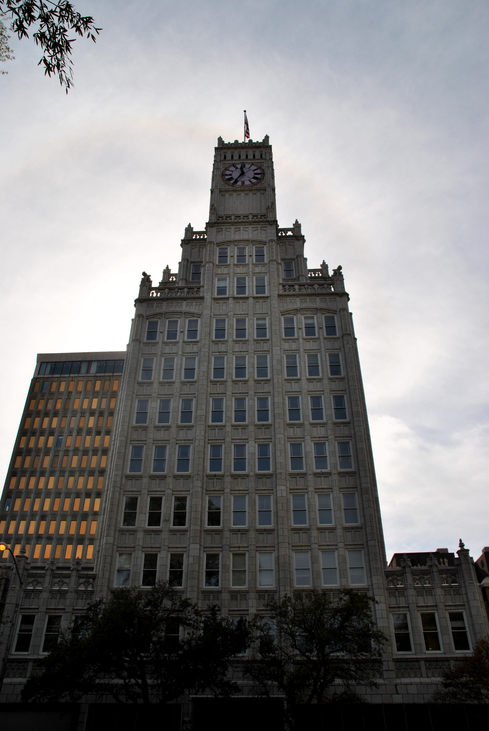 Lore holds it that Eudora Welty's father was one of the architects of this gothic tower.