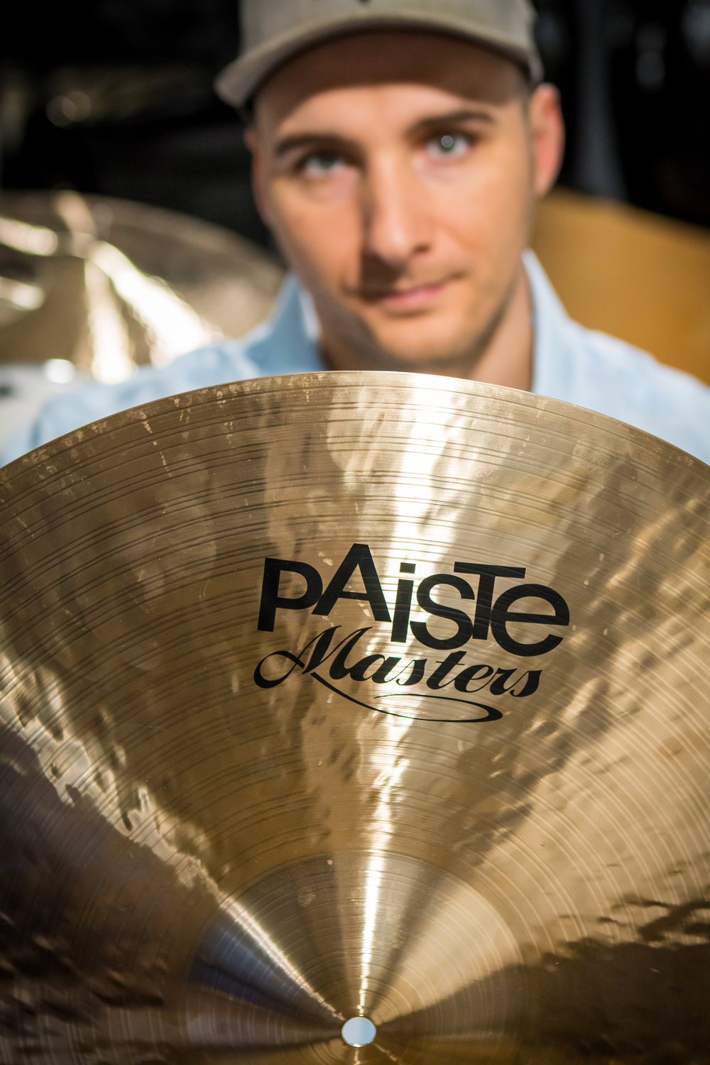 Philip is a proud endorser of Paiste Cymbals and member of their Artist Roster.