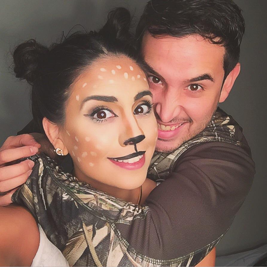 Oh Deer... It\'s Halloween! — Lizandra Liane - hair + makeup artist