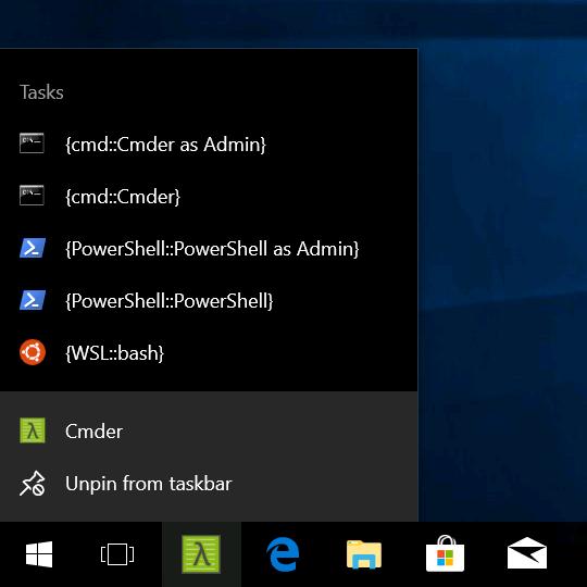 Cmder Windows Integration — Jack Warren